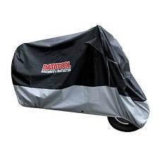 Datatool Motocicleta/Moto Impermeable Cubierta de seguridad en Negro/Gris-X-Grande