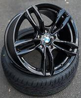 17 Zoll Wheelworld Wh29 Alu Felgen 5x120 schwarz für BMW M Performance e46 e90