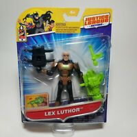 DC Justice League Action LEX LUTHOR 4.5 inch POWER CONNECTS Action Figure -NEW