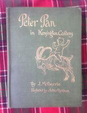 Peter Pan in Kensington Gardens J.M. Barrie Arthur Rackham Illustrated 1906