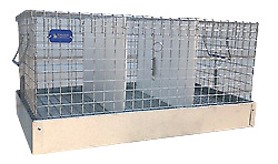 Rabbit Carrier/Transport Cage - 3 Hole - 12x18x10