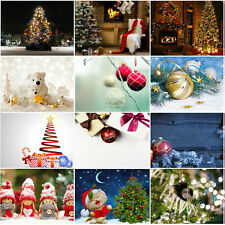 Merry Christmas Xmas Background Cloth Photography Backdrop Props