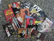 RARE! THE MUNSTERS COMPLETE SET OF 72 CARDS! 1960s TV SERIES!! DART