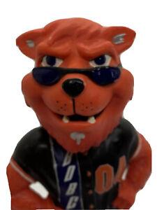 RUFUS LYNX 2004 Charlotte Bobcats Bobblehead NBA Inaugural Season #886 Rare HTF