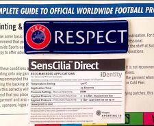 2013-18 UEFA respeto ECU/Europa fútbol sportingid Lextra Senscilia Insignia Parche