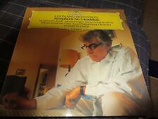 Leonard Bernstein Deutsch Grammophon Symphony No. 3, Kaddish,  Vinyl LP