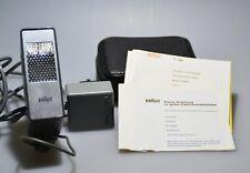 Braun hobby f 200 Flash con cable de cargador y guía Flash
