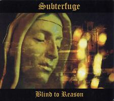 SUBTERFUGE Blind To Reason CD Digipack 2017