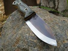KRF 0-1 Custom Bushcraft /Survival /Camping/ Knife O.D Green USA Made