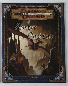 Dungeons & Dragons - D&D 3 - Sombre Horizon - JDR VF