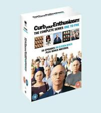 Curb Your Enthusiasm : Complete HBO Seasons 1 To 5 Box Set [DVD], Good DVD, ,