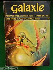 REVUE GALAXIE N 117 FEVRIER 1974 VAN SYOC TIPTREE ZELAZNY