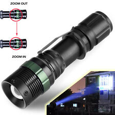 10000Lumen XM-L T6 Zoomable Tactical Focusing LED Flashlight Torch Camping Lamp