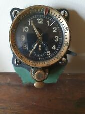 WW2 Luftwaffe cockpit clock Junghans borduhr