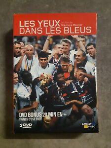 COFFRET 2  DVD LES YEUX DANS LES BLEUS 1 ET 2 - TBE