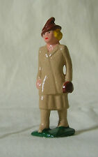 Traveling Woman in Suit, Standard/G scale train layout figure, New/Reproduction