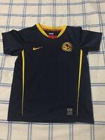 NIKE Club America Jersey Shirt Size Kids Large 6-7 Soccer Futbol Liga MX 2009