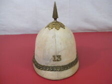 Indian War Us Army Infantry M1881 Style Summer or Cork Helmet w/Spike - Rare