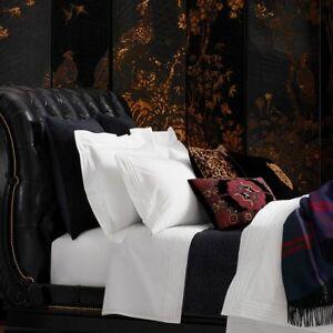 Ralph Lauren Norris The International Black Velvet Quilt Textured Queen $450