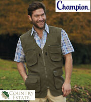 MENS CHAMPION CASUAL SMART FISHING HUNTING DALE LIGHTWEIGHT BODYWARMER WAISTCOAT