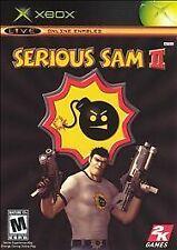 Serious Sam II (Microsoft Xbox Game Disc Only Free Shipping 100% Guaranteed