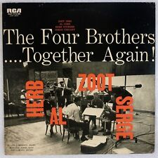 FOUR BROTHERS: Together Again! Zoot Sims, Al Cohn, Serge Chaloff JAPAN Jazz LP