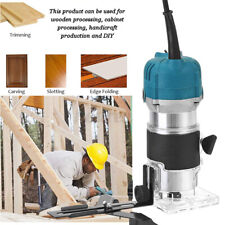 Electric Hand Trimmer Palm Router Laminate Joiner Wood working Cuting