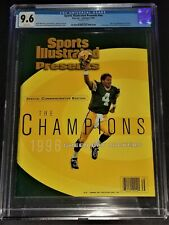 2/1997 GREEN BAY PACKERS 1996 SB CHAMPIONS SPORTS ILLUSTRATED Newsstand CGC 9.6