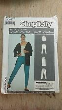 VINTAGE SIMPLICITY LADIES ELEMENTS PANTS PATTERN 8725 SIZE ALL FREE SHIPPING