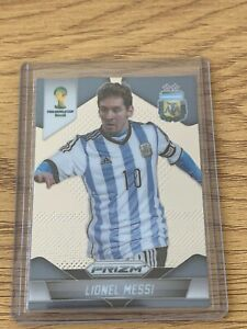 2014 Panini Prizm World Cup Lionel Messi Base Card #12 Argentina