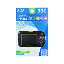 2x Film Ecran LCD Dureté H3 Protection pour Olympus Tough TG-4