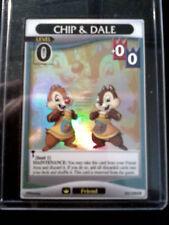 Chip & Dale 20/128 SR A Darkness Awakened Kingdom Hearts CCG TCG Disney
