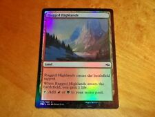 1x Foil - Rugged Highlands - Magic the Gathering MTG Fate Reforged