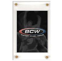 BCW 4-Screw Recessed Screwdown Trading Card Holder For Regular Size Cards 20pt