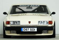 "1:18 Custom ""1987 ROVER SD1 VITESSE 3500 v8 Grp.A (White) MODIFIED TUNING Code 3"