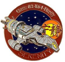 Serenity Firefly Ship Logo Pin exklusive Sammler Collectors Pin Metall  neu