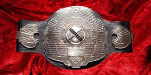 Bas Rutten 3rd King of Pancrase Wrestling Champion Belt MMA Frank Japan Pro NJPW