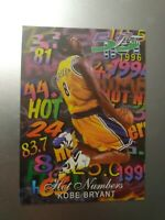 1996-1997 Flair Kobe Bryant Hot Numbers RC Rookie short print rare AECO NBA