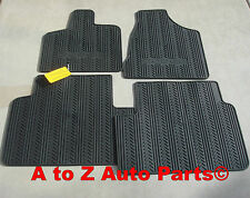 2013-2017 Dodge Grand Caravan Minivan 1ST-2ND ROW SLUSH STYLE FLOOR MATS,OEM