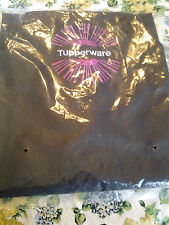 Tupperware Logo Apron Black & Pink & White Embroidered Logo Award New in Package