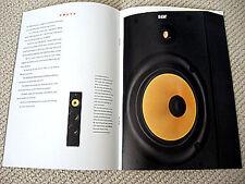 Bowers and Wilkins / B&W DM-600 series, AS/CC/DS series speaker brochure
