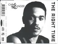 CARL LINGER - The right time CDM 5TR Eurodance 1994 (RED BULLET) Holland