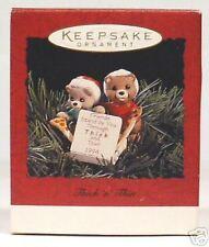 "1994 Hallmark Keepsake Ornament ""Thick-N-Thin"""