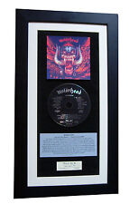 MOTORHEAD Sacrifice CLASSIC CD GALLERY QUALITY FRAMED+EXPRESS GLOBAL SHIPPING