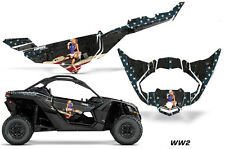 AMR Racing Can Am Maverick X3 DS RS Graphic Kit Wrap Sticker Parts 2016 + WW2
