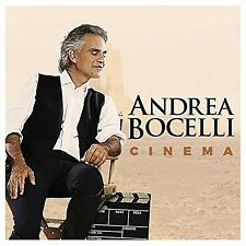 Andrea Bocelli, Cinema, CD