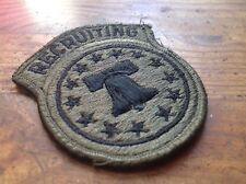 ORIGINAL ARMY (SUBDUED) PATCHES RECRUITING COMMAND COLLECTABLES