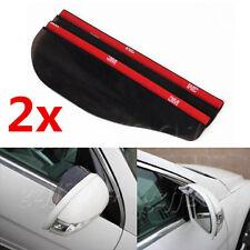 2 x Universal Rear View Side Mirror Rain Board Sun Visor Shade Shield For Car