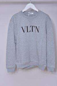 Valentino Sweatshirt Crew neck VLRN Grey size S
