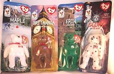 McDonald's 1999 Ty Glory Erin Britannia Maple Complete Set of 4 New in Packaging